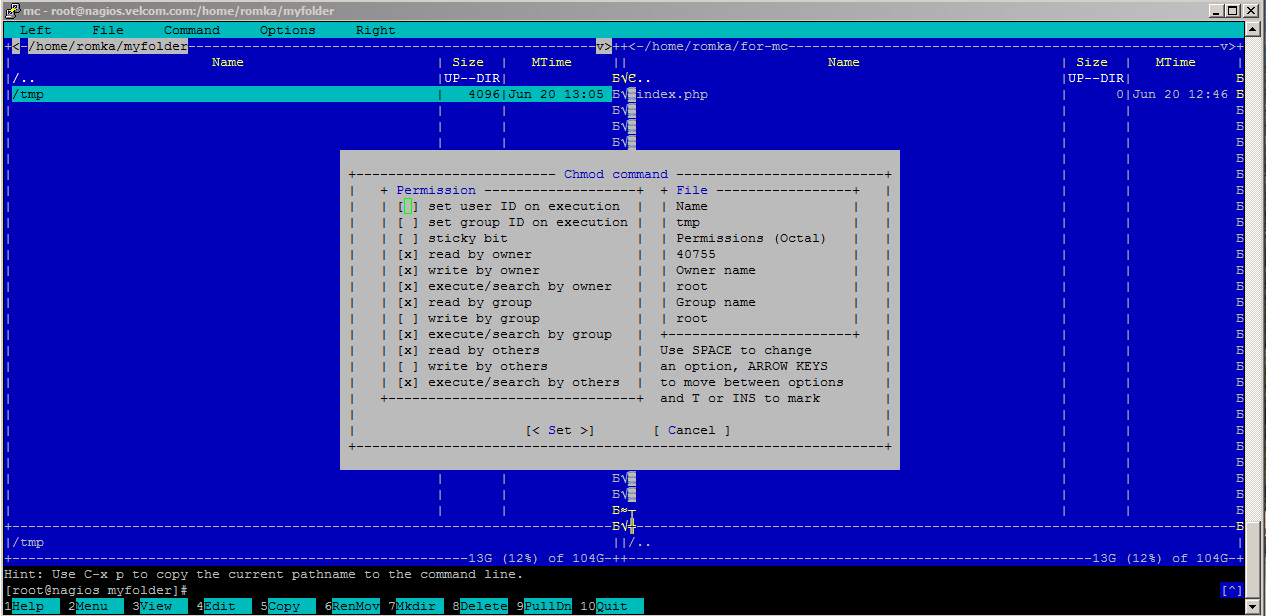 how to change the owner of a file in unix